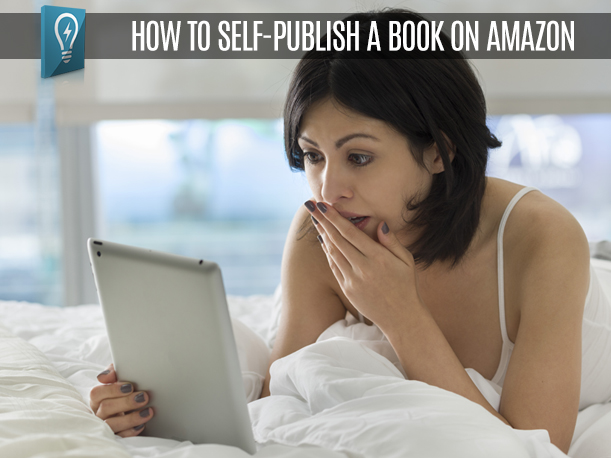 How to self-publish a book on Amazon ( and a trick to write it faster)