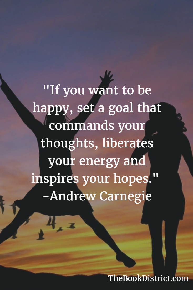 Goal setting quote - Andrew Carnegie