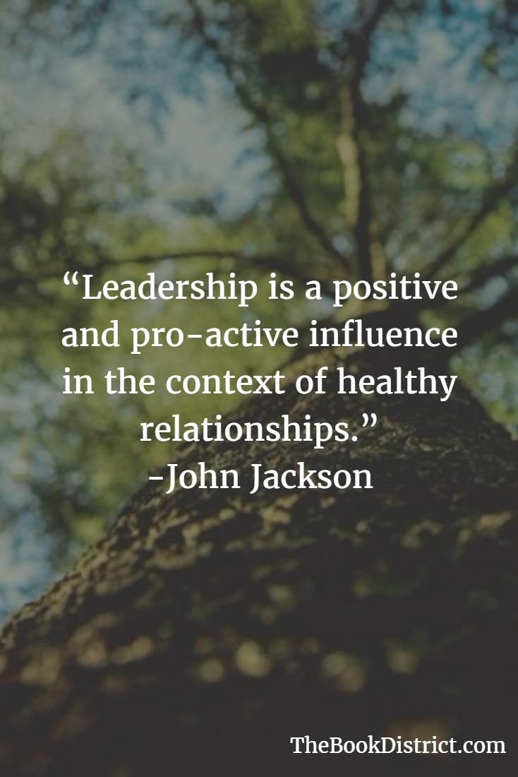 Leadership is pro-active influence